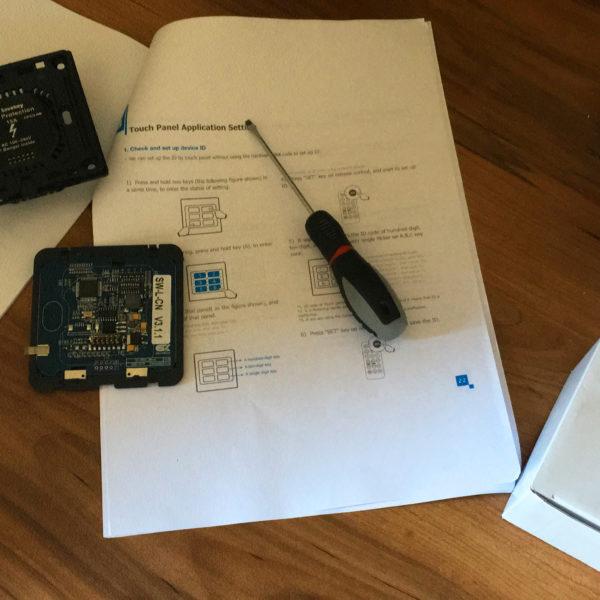 Logic Board controllo di domotica